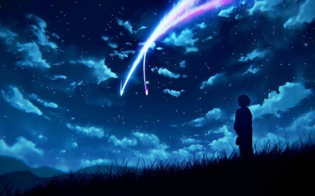 Anime Mitsuha Miyamizu Desktop Wallpaper