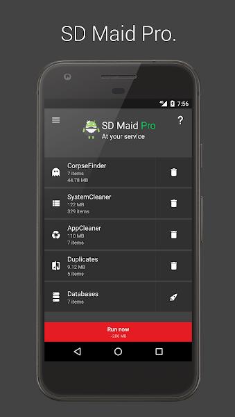 Download APK: SD Maid Pro – Unlocker v4.4.0 [Paid]