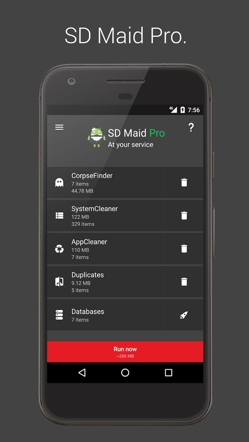 SD Maid Pro - Unlocker Screenshot 1