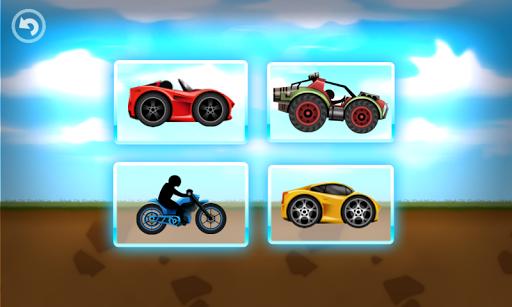 有趣的兒童賽車