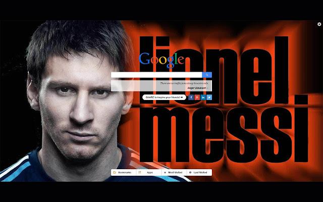 Lionel Messi New Tab