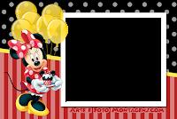 molduras-para-fotos-gratis-minnie-aniversario-festa
