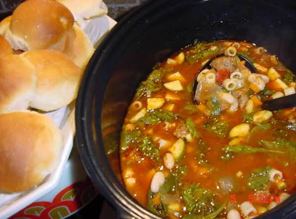 Bonnie's Tuscan White Bean And Sausage Soup