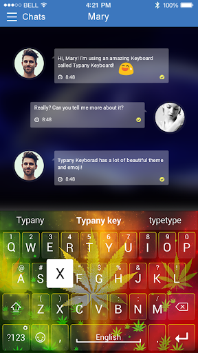 mod Reggae Rasta Typany Keyboard 4.5 screenshots 2