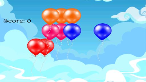 氣球爆炸的孩子