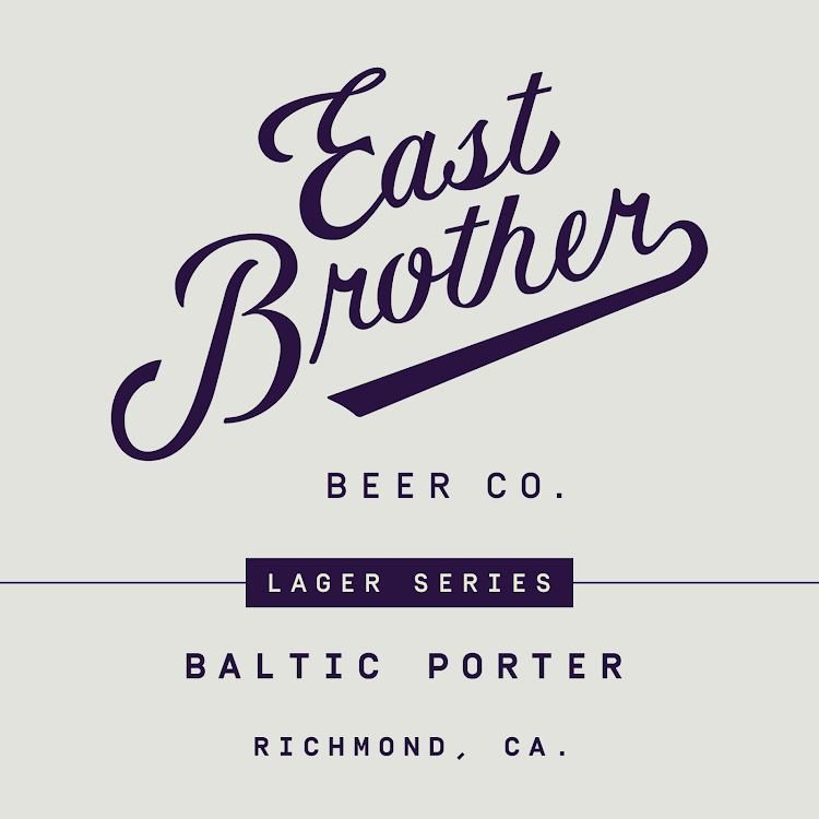 Logo of East Brother Baltic Porter