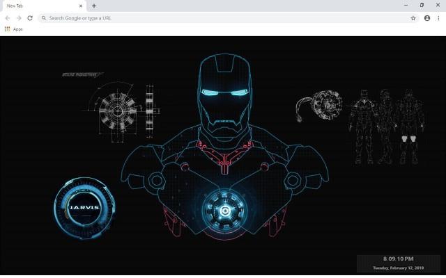 Iron Man Full HD New Tab