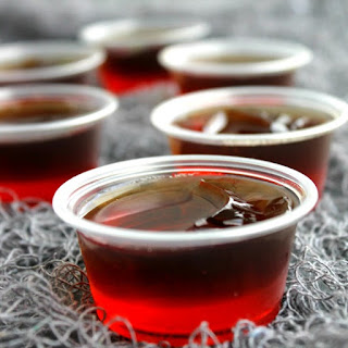 Dracula's Bite Jello Shots.