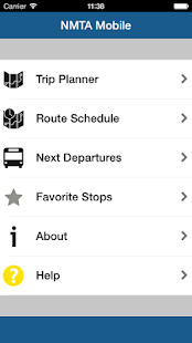 Music City Transit Tracker- screenshot thumbnail
