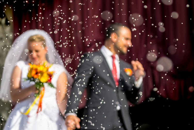 Evviva gli sposi....SFOCATI! :-D di Dennis Trevisan