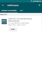 AAM Events- screenshot thumbnail