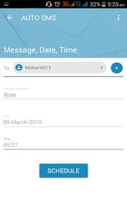 Auto SMS screenshot 7