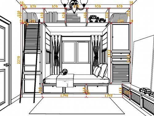thiết kế phòng ngủ bé gái ấn tượng