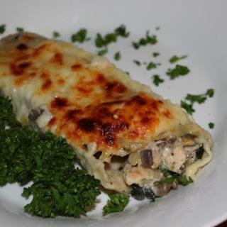 Chicken, Spinach & Mushroom Manicott