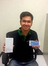 Photo: Our recent giveaway winner+Marck Ecoshowing off his brand new Samsung Galaxy S6 Edge!  We have 2 giveaways running this week -- LG G4: http://goo.gl/rlgv02 Axon Phone:http://goo.gl/dLIUaO