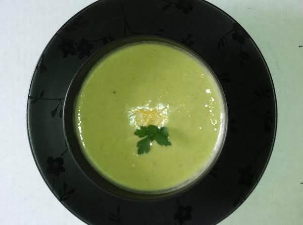 Asparagus, Broccoli & Cheese Soup Recipe