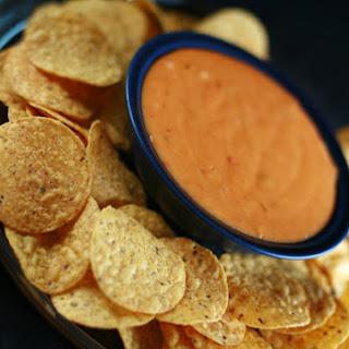 Basic Salsa Queso Dip.