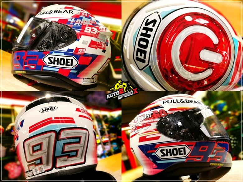 SHOEI Z7 Marquez Power UP