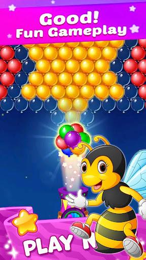 New Bubble Shooter Adventure Bee Bubble android2mod screenshots 2