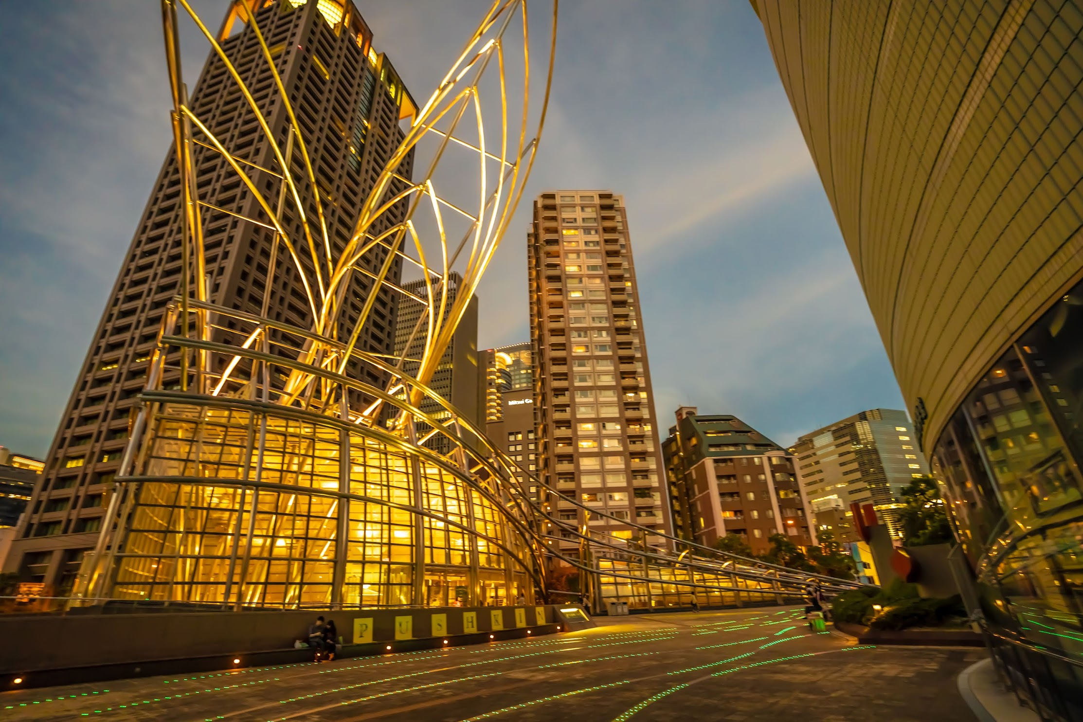 The National Museum of Art, Osaka light-up3