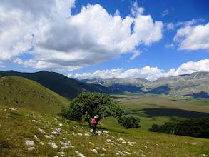 Photo: Faticosamente risaliamo il Monte Ventosola