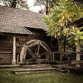 Old mill by Nena Volf - Uncategorized All Uncategorized ( mill, old, rastoke )