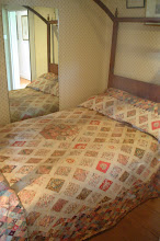 Photo: A period quilt