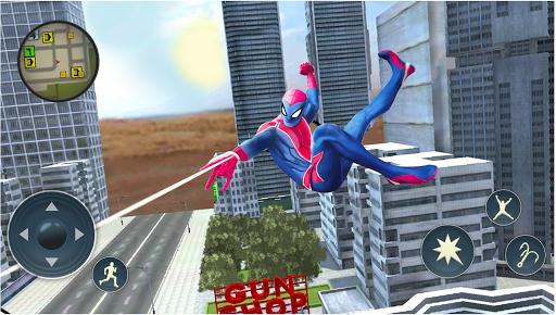 Spider Rope Hero - Gangster Crime City  screenshots 3