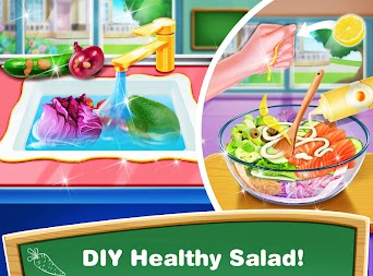 School Lunch Food Maker – Cooking Food Games APK screenshot thumbnail 4