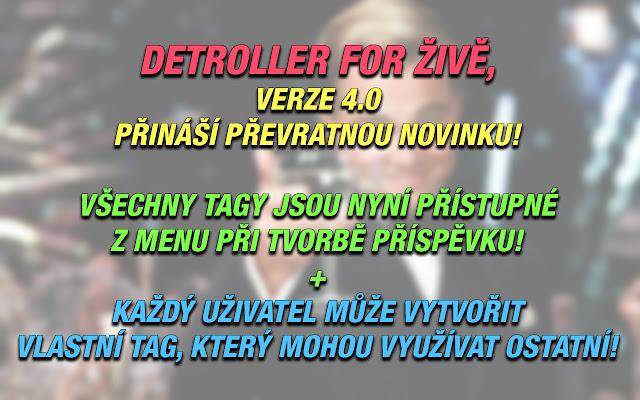 DeTroller & Images for ŽIVĚ.cz