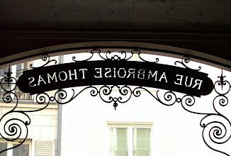 Photo: Rue Ambroise Thomas