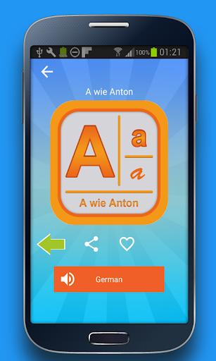 學習德語字母