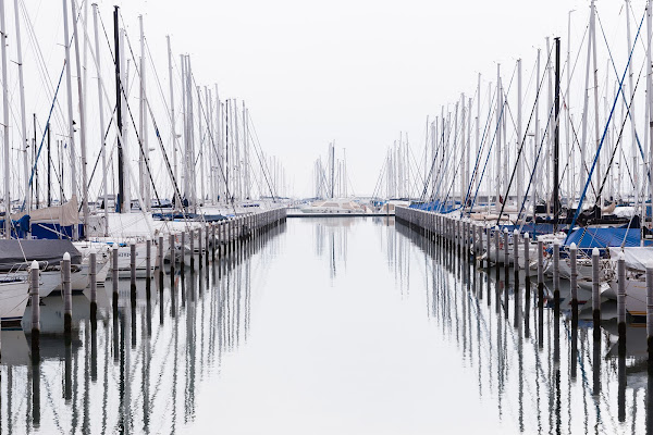 Riflessi di porto di Matteo Masini