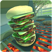 Mr. Hamburger Tower Builder 2