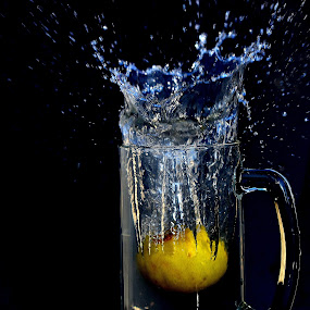 Lemon splash by Aravindh Ganesh - Food & Drink Ingredients ( water, splash, water drop  )