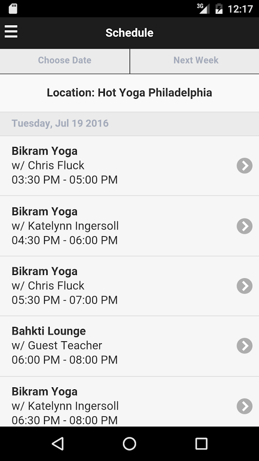 Hot Yoga Philadelphia- screenshot