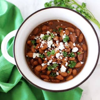 Slow Cooker Pinto Beans.