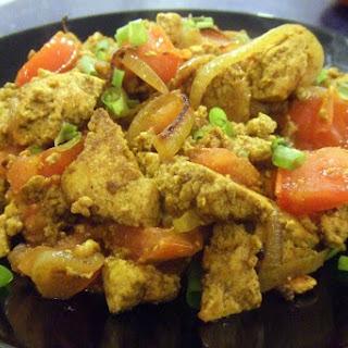 Xi Jong Shi Chao 'Jidan' (Chinese Tofu Scramble) [Vegan, Gluten-Free]