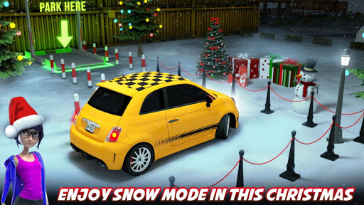 Modern Car Drive Parking 3d Game - TKN Car Games screenshots 1