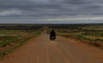 Photo: Czasami zjeżdżaliśmy z asfaltu...