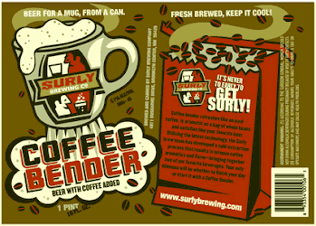 Surly Coffee Bender American Oatmeal Brown Ale