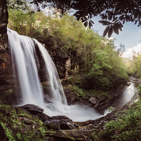 by John Smith - Landscapes Waterscapes ( dry falls, mountains, cascade, waterfall )