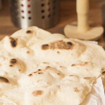 Home Made Naan Bread