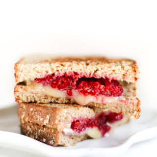 Raspberry Grilled Cheese Sandwich.
