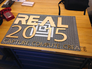 Photo: #REAL2015 letters