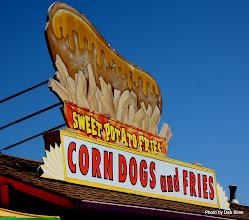 Photo: (Year 3) Day 25 - Corn Dog Sign