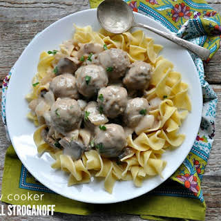 Meatball Stroganoff With Cream Of Mushroom Soup Recipes.