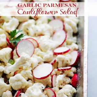 Garlic Parmesan Cauliflower Salad