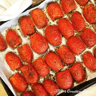Confit Tomatoes.
