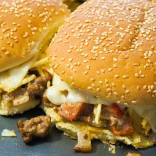 Potato Chip Loose Meat Sandwiches.